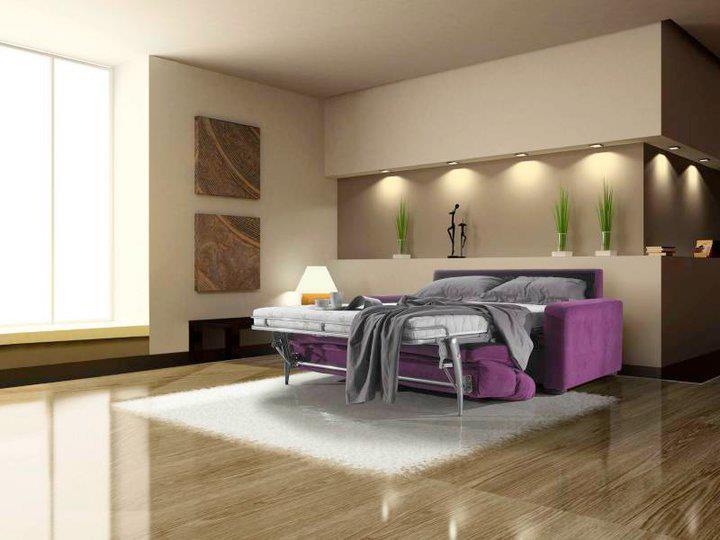 Paris ספה נפתחת/ סלון איטלקי עם מיטה