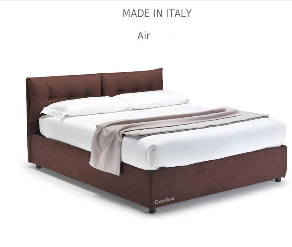 Air :מיטה מרופדת לחדר השינה דגם