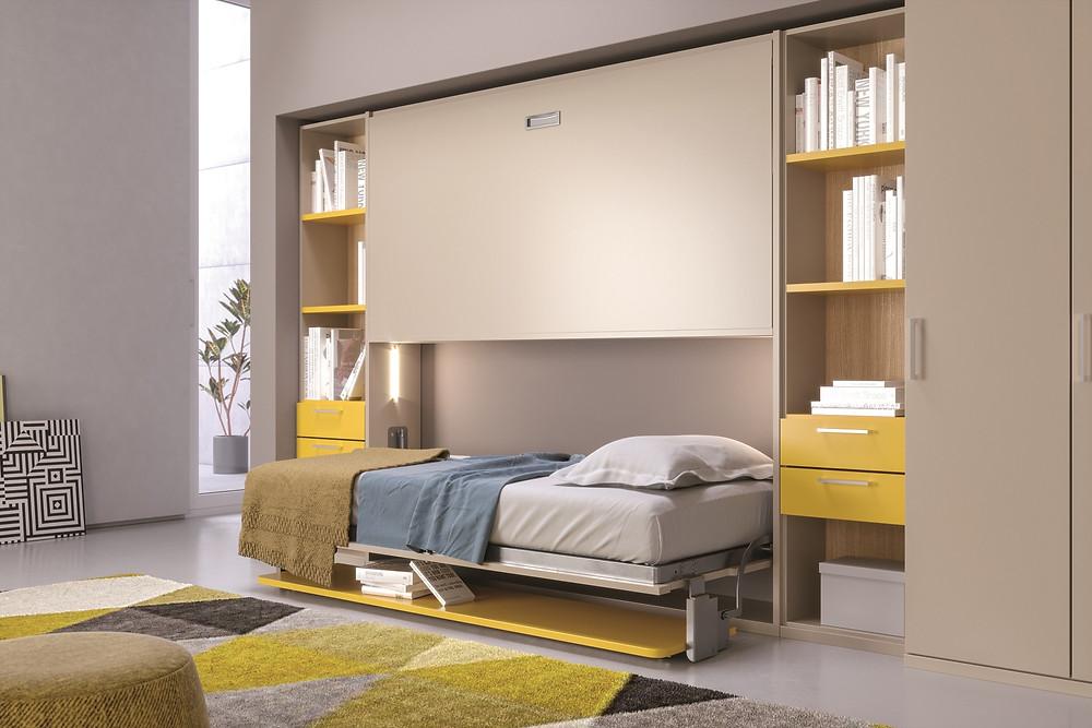 מיטת קיר עבור שני ילדים
