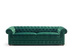 Chesterfield ספה נפתחת למיטה