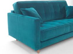 ספה נפתחת למיטה בעיצוב סקנדינבי