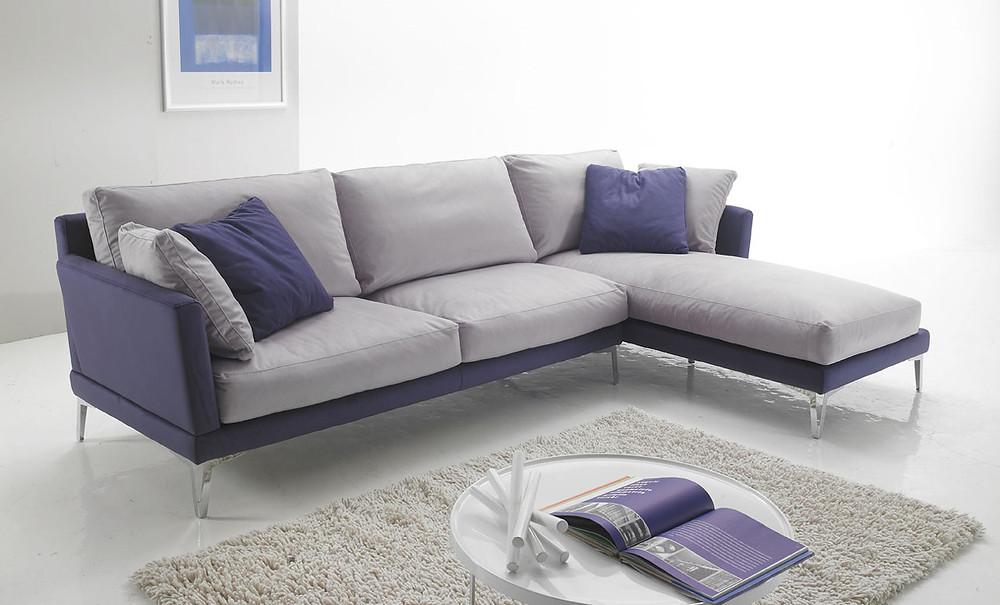 מערכת ישיבה מעוצבת לסלון שמיוצרת באיטליה