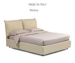 Melany :מיטה מרופדת לחדר השינה דגם
