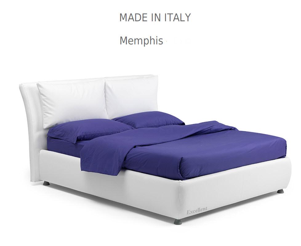 Memphis :מיטה מרופדת לחדר השינה דגם
