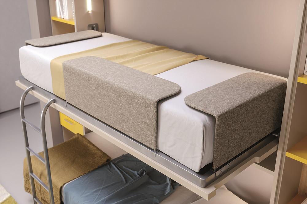 מיטות קיר בבית מלון ומיקרו ליוינג
