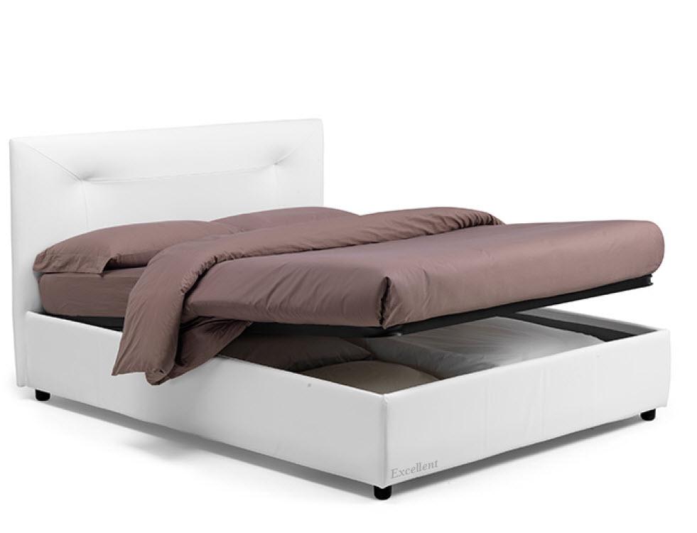 Ginerva :מיטה מרופדת לחדר השינה דגם