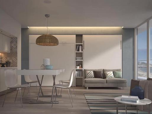 כך תקבלו את הנוחות שאתם צריכים והמרחב שאתם רוצים בעיצוב הבית- מיטות קיר וספות נפתחות למיטה