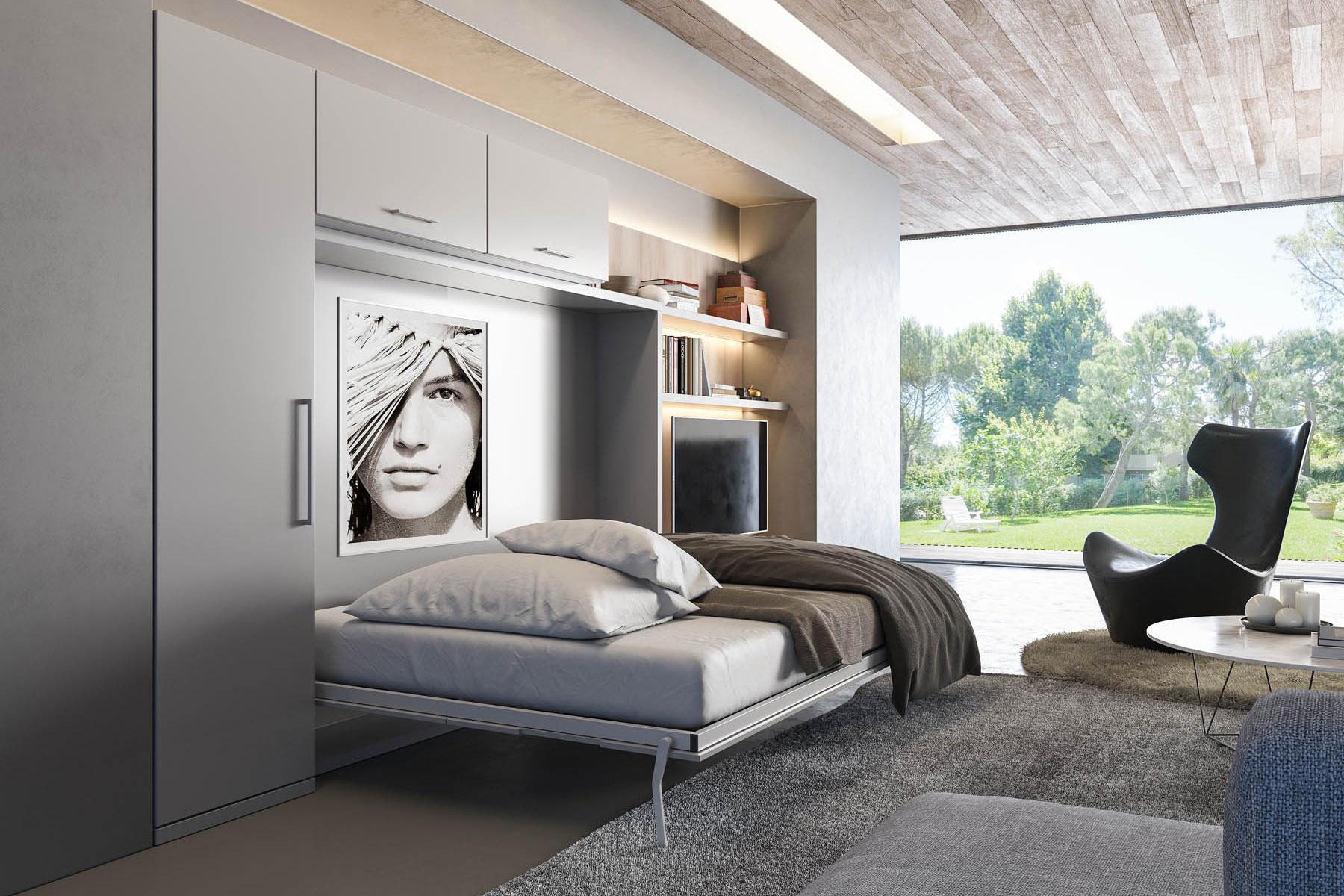Trav- מיטת קיר דגם