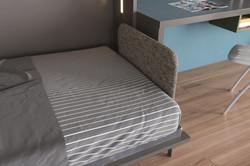 Tavolo- מיטות קיר נפתחות מהספרייה