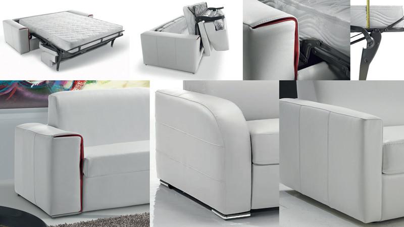 ספה נפתחת למיטה עם מזרן איכותי ביותר לשינה