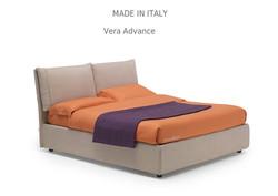 vera adva:מיטה מרופדת לחדר השינה דגם