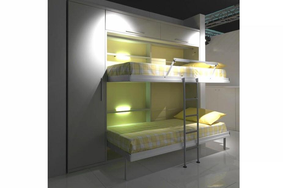 Duet- מיטות קומותיים מתקפלת