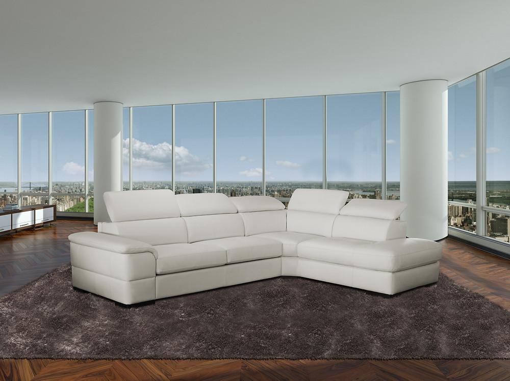 ספה פינתית נפתחת למיטה- האורחים לעולם לא יצליחו לנחש שמערכת הישיבה היא גם מיטה זוגית מפנקת