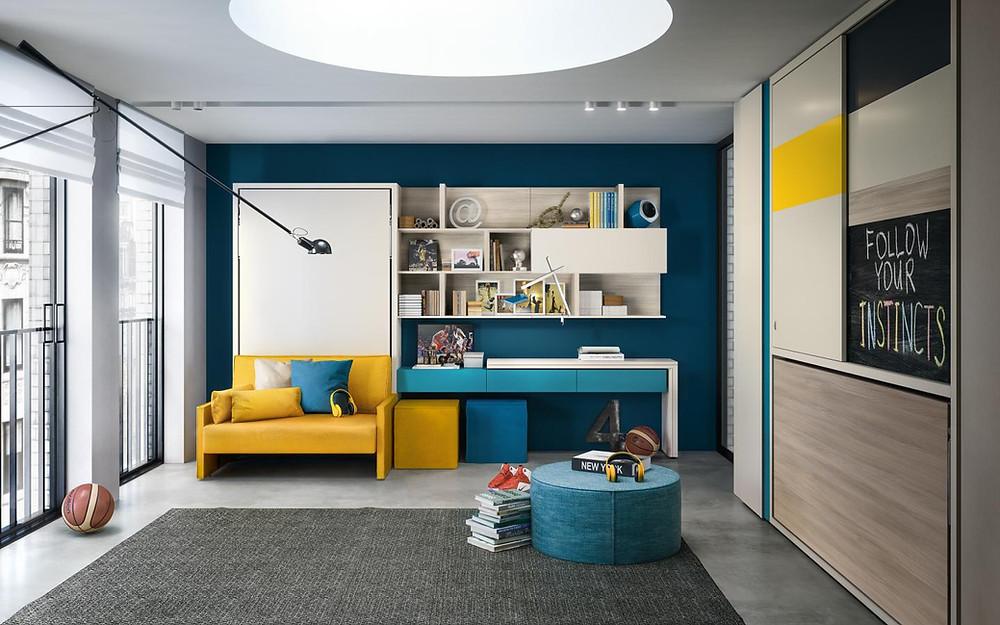 ריהוט חכם ופתרונות שינה לחדרי ילדים