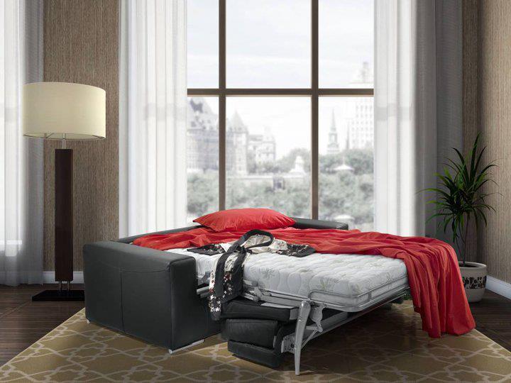 Style סלון איטלקי עם מיטה, ספה נפתחת