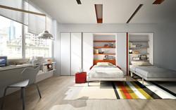 אקסלנט רהיטים- מיטות קיר וריהוט מודולרי