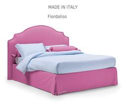 Fiordalis:מיטה מרופדת לחדר השינה דגם