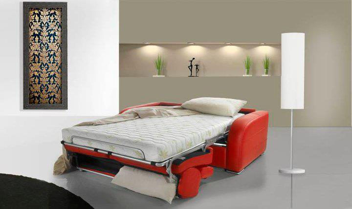 Dream testנפתחת /סלון איטלקי עם מיטה