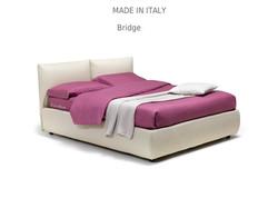 Bridge :מיטה מרופדת לחדר השינה דגם
