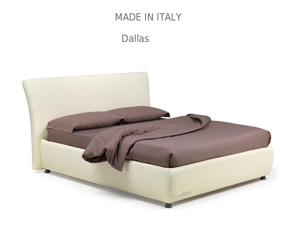 Dalas :מיטה מרופדת לחדר השינה דגם