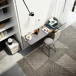 שולחן עבודה תואם למיטות הקיר