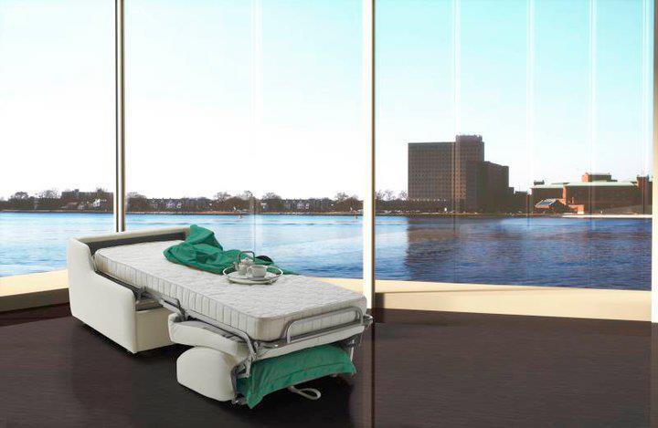 כורסא שנפתחת למיטה-אידאלית לחללים קטנים