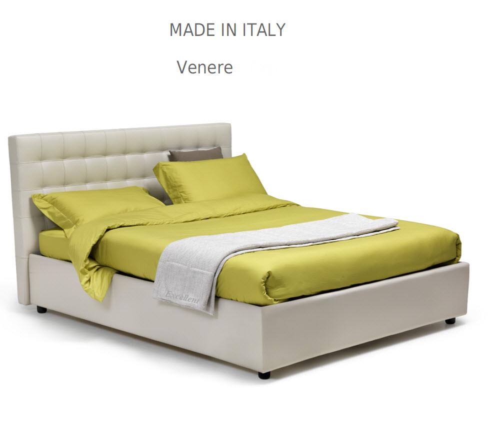 Venera :מיטה מרופדת לחדר השינה דגם