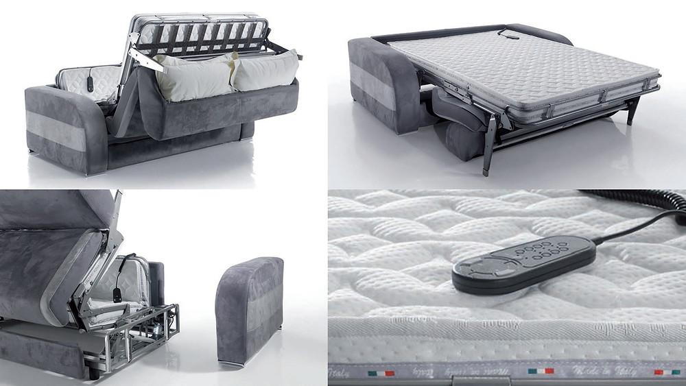 ספות נפתחות למיטה איכותית ומפנקת עם מנגנונים מתקדמים