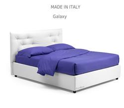 Galaxy :מיטה מרופדת לחדר השינה דגם