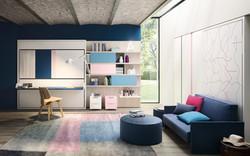 מיטת קיר תוצרת איטליה