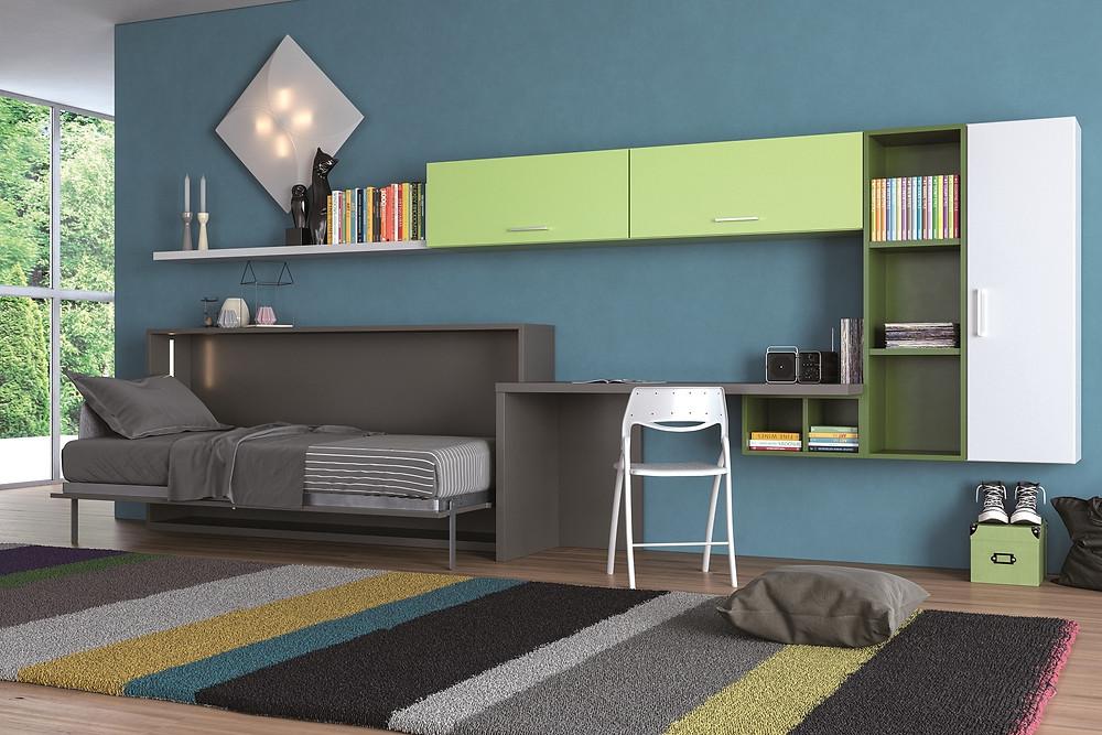 """מיטות קיר מאפשרות ניצול מקסימלי של כל מ""""ר בבית"""
