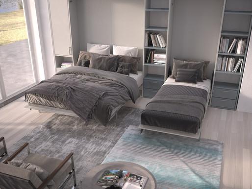 הכל על מיטות קיר וניצול נכון של חלל הבית