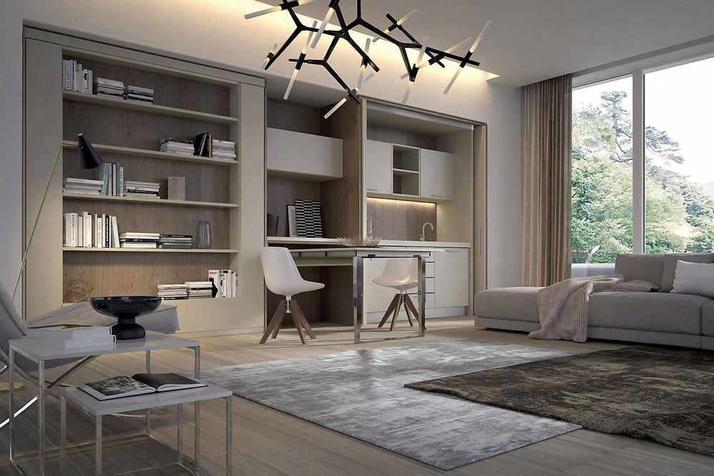 אקסלנט רהיטים- דירות מיקרו וריהוט חכם