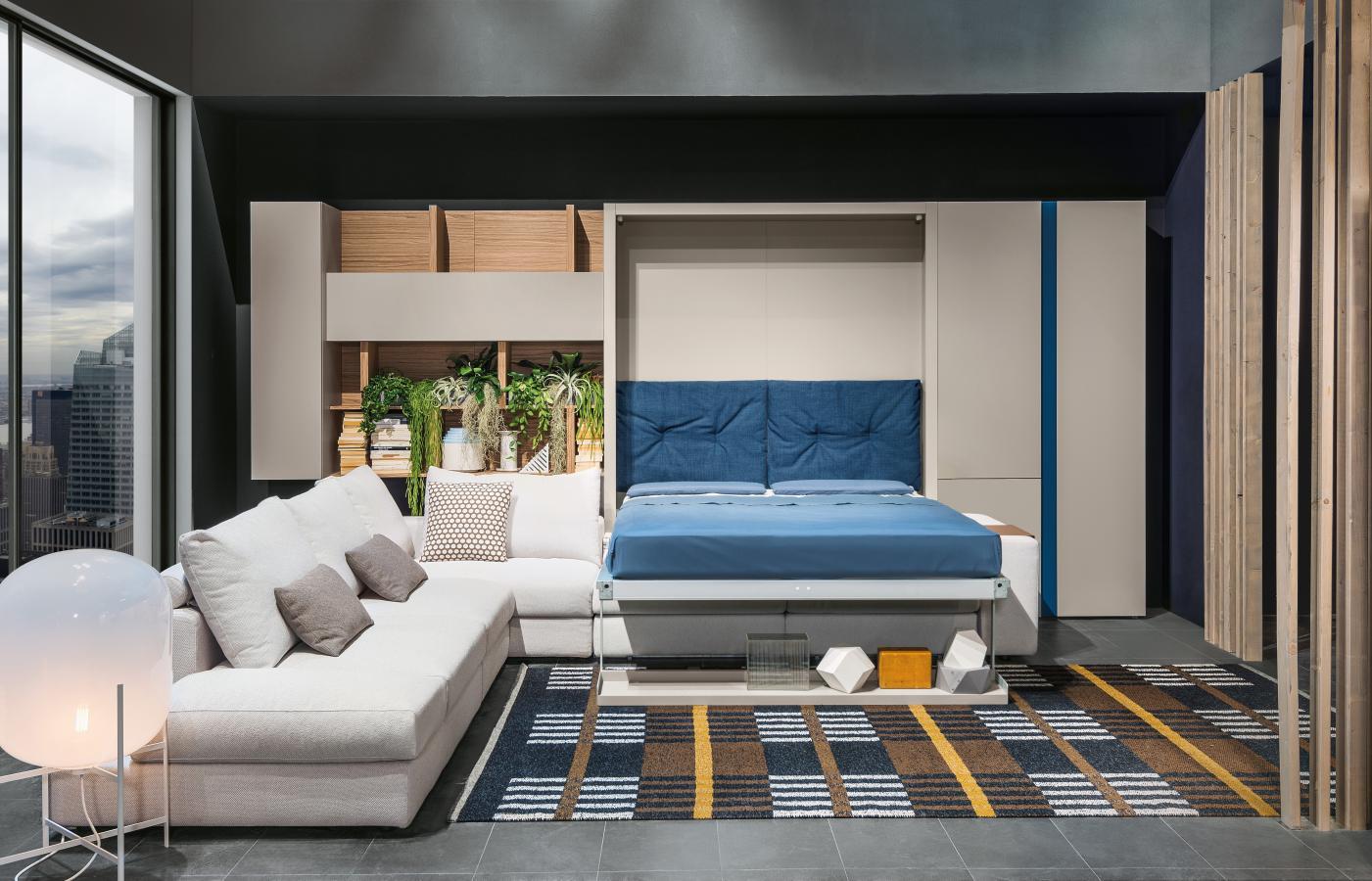 מיטה זוגית מתקפלת