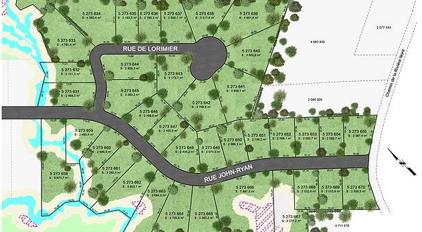 Plan de site 2D