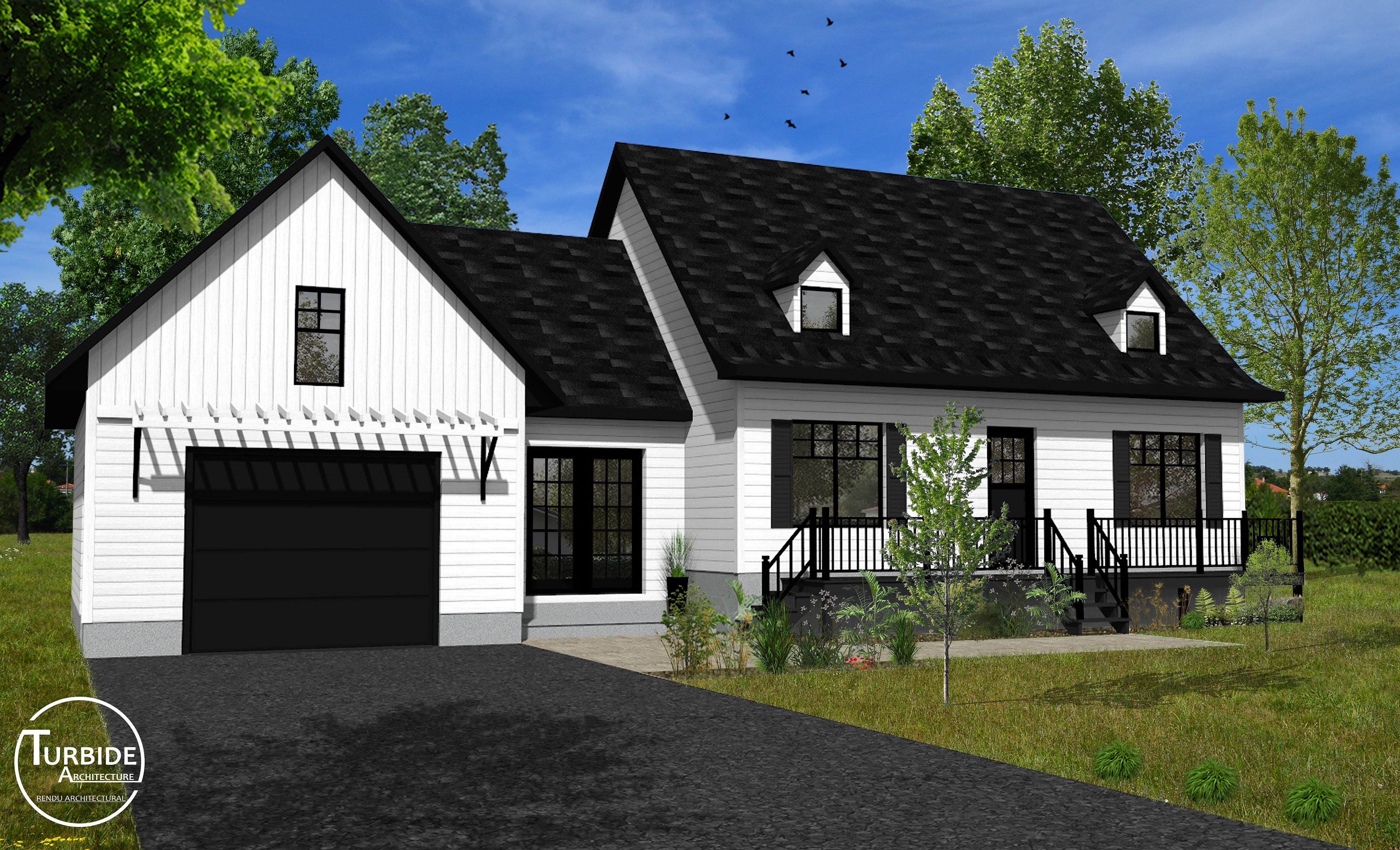 mod lisation 3d architecture qu bec turbide. Black Bedroom Furniture Sets. Home Design Ideas