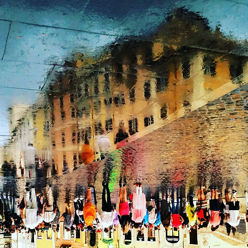 Spanish Steps Reflection