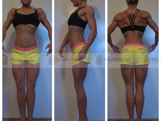 4 Weeks Out - Check In + Progress Photos