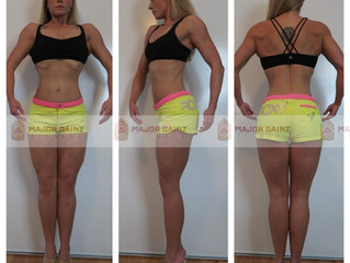 17 Weeks Out - Check In + Progress Photos