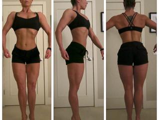 12 Weeks Out: Measurements + Progress Pics