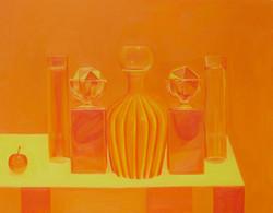 Still life in Yellow Orange
