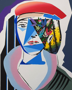 Picasso woman hommage01