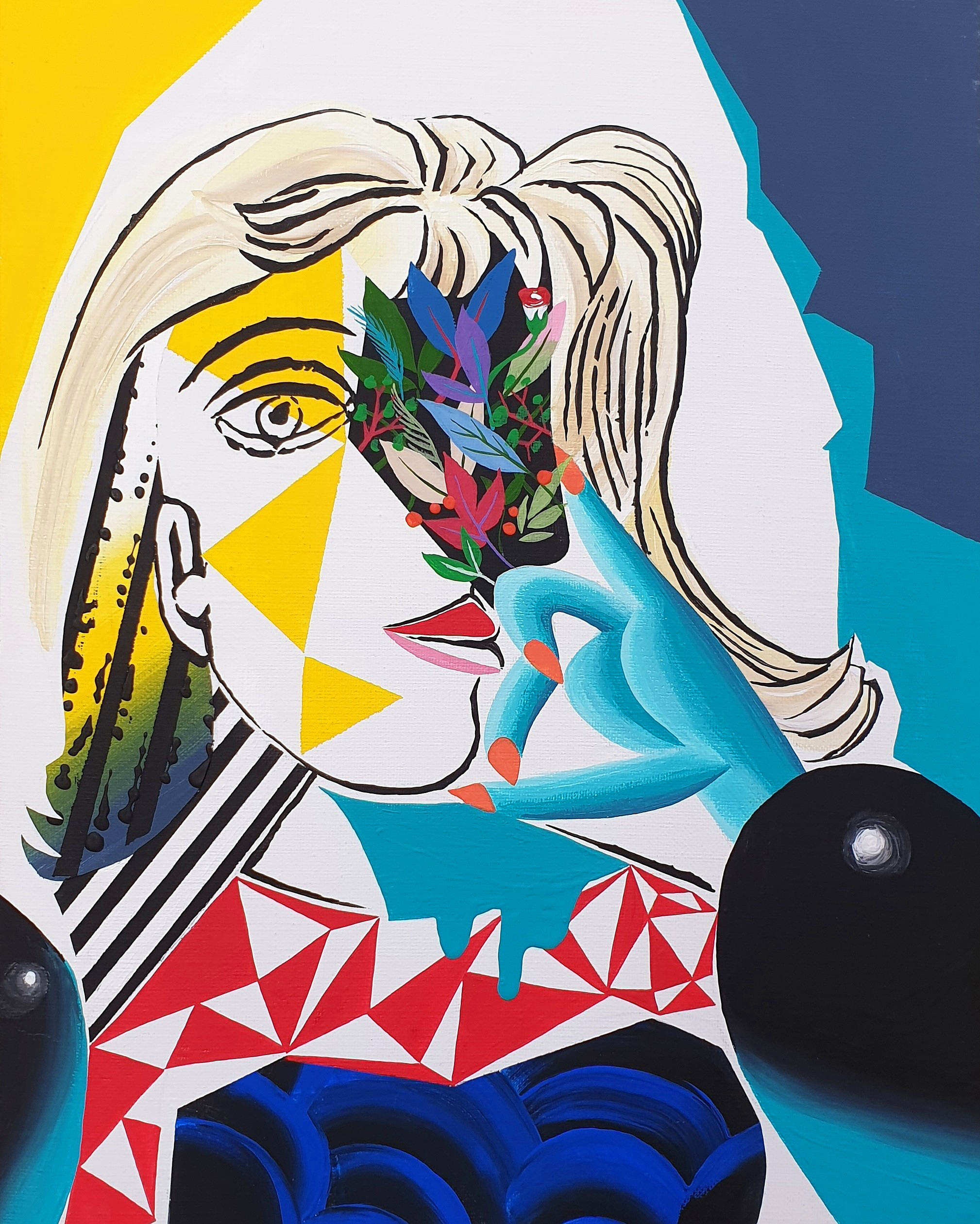 Picasso woman hommage 03