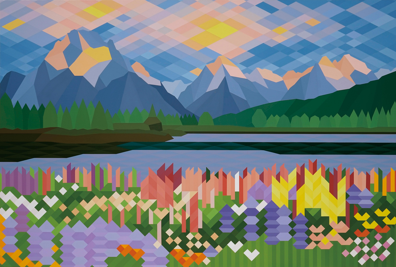 전영진, Painting for painting 18no08