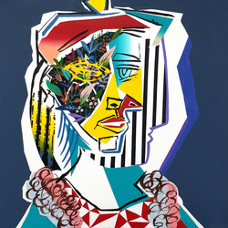 Picasso woman hommage 04