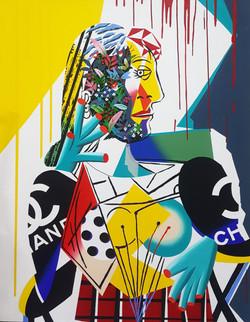 Picasso portrait of dora maar