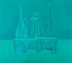 Still life in Turquoise