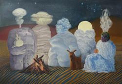 사막의 밤