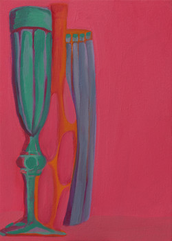 Still life in Pink and Blue
