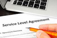 Service Level Agreement Contract Form wi